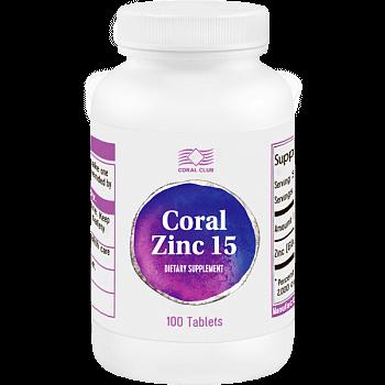 Корал Цинк 15