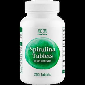 Spirulīna tabletēs