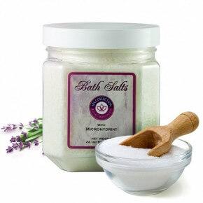 Соль для ванны с микрогидрином