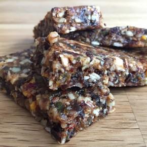Recipe: Homemade nutritious energy bars