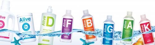 ALIVE™ – dabiski tīrīšanas līdzekļi