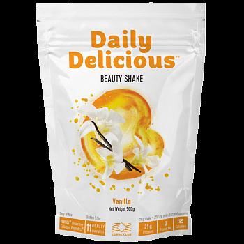 Deili Delišes Bjūtī Šeik ar vaniļas garšu (Daily Delicious kokteilis)