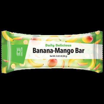 Батончик  Дейли Делишес «Банан-Манго бар»