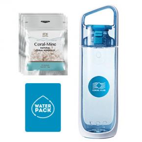 Начни с воды, набор (голубая бутылка)