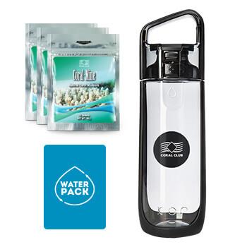 Упаковка для Здоровья №1 (Water Pack), черная бутылка