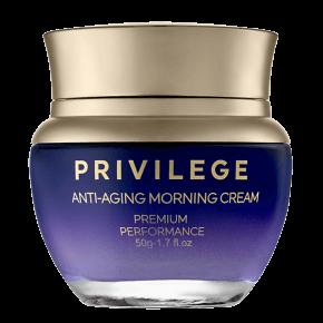Privilege   Pretnovecošanās dienas krēms sejai un kaklam ar kafijas ekstraktu un eļļu