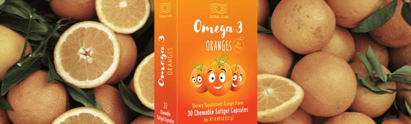 Омега 3 Апельсина для детей