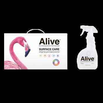 Alive Коллекция средств для поверхностей + флакон с триггером