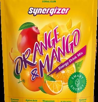Sinerdžaizer ar apelsīna un mango garšu